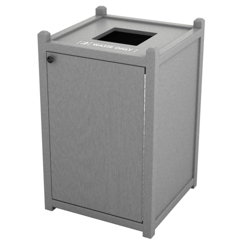 Single Topload Waste Bin with 45 Gallon Capacity, 85464