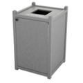Single Topload Waste Bin with 32 Gallon Capacity, 85461
