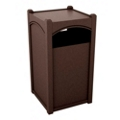 Triple Sideload Arch Waste Bin with 45 Gallon Capacity, 85475