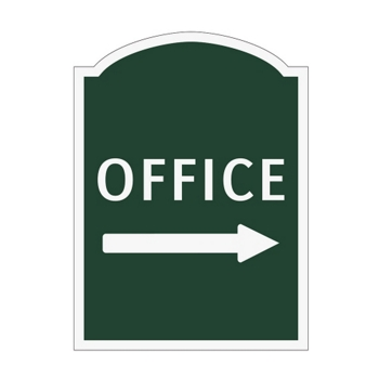 Signage office signs national business furniture for Exterior office signs