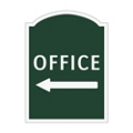 Office Left Outdoor Sign, 91934