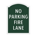 No Parking Fire Lane Outdoor Sign, 91937