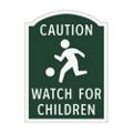 Caution Watch For Children Outdoor Sign, 91940