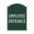 Employee Entrance Outdoor Sign, 91944