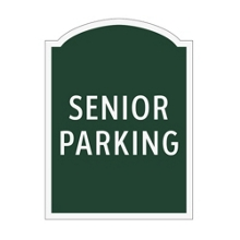 Senior Parking Outdoor Sign, 91949