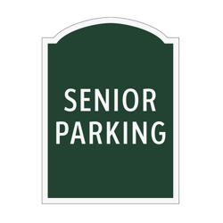 Senior Parking Outdoor Sign, 91949