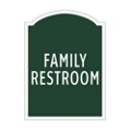 Family Restroom Sign, 91957