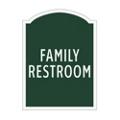 Family Restroom Sign, 91957