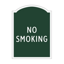 No Smoking Outdoor Sign, 91961