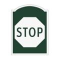 Stop Outdoor Sign, 91962