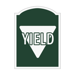 Yield Outdoor Sign, 91965