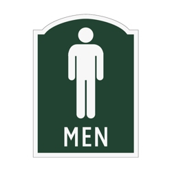 Men Restroom Sign, 91967