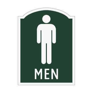 Men Restroom Sign, 91967