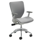 Mesh Ergonomic Office Chair with White Frame, CD07725