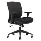Mesh Ergonomic Task Chair with Black Frame, CD07722