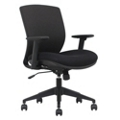 Mesh Ergonomic Task Chair with Black Frame, 57012