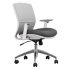 Mesh Ergonomic Task Chair with White Frame, CD07723