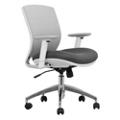Mesh Ergonomic Task Chair with White Frame, 57013