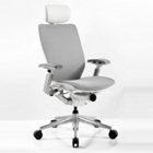 High Back Mesh Ergonomic Computer Chair with White Frame, CD07728