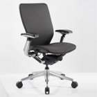 Mid-Back Mesh Ergonomic Computer Chair with Black Frame, CD07729