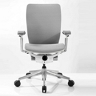 Mid-Back Mesh Ergonomic Computer Chair with White Frame, CD07730