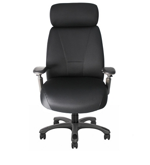 Fabric Executive Chair with Graphite Frame, 57125