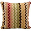 "kathy ireland by Nourison Zigzag Square Pillow - 18"" x 18"", 82264"