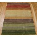 Stripe Print Area Rug - 8'W x 10.5'D, 82201