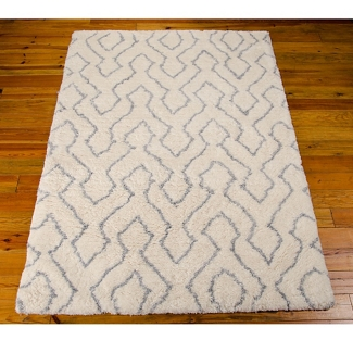 Contemporary Print Area Rug - 7.5'W x 9.5'D, 82203