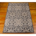 kathy ireland by Nourison Floral Print Area Rug - 4.82'W x 7'D, 82186