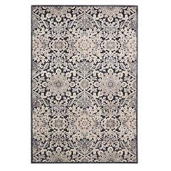 kathy ireland Nourison Floral Print Area Rug - 7.75'W x 9.75'D, 82187