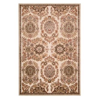 kathy ireland by Nourison Leaf and Floral Print Area Rug - 7.75'W x 9.75'D, 82188