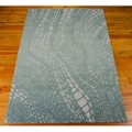 kathy ireland by Nourison Abstract Wave Print Area Rug - 5'W x 7.5'D, 82190