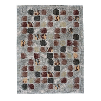 Abstract Print Area Rug - 7.83'W x 10.5'D, 82206