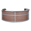 "Compass Triple Reception Desk - 142""W x 72""D, 10141"