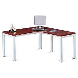 "Reveal Laminate Top Corner Desk 60""W x 60""D , 14346"