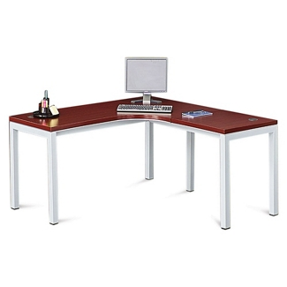 "Reveal Laminate Top Corner Desk 60""W x 60""D , 14346"