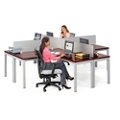 Reveal Four Person Workstation, 14349