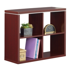 """Reveal 30""""H Four Cube Bookcase, 32108"""