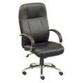 Que Faux Leather High Back Chair, 50998