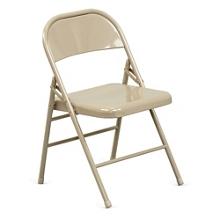 Treble Steel Folding Chair, 51043