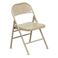 Treble Steel Folding Chair, 51043