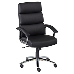Segment Faux Leather Conference Chair, 52019