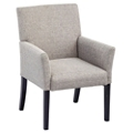 Fabric Guest Chair with Solid Wood Legs, 55046