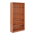 "Five Shelf Laminate Bookcase - 72""H, 32992"