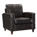 Eco Leather Contemporary Club Chair, 53001