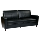Eco Leather Contemporary Sofa, 53003
