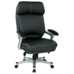 Ergonomic Faux Leather Executive Chair, 57071