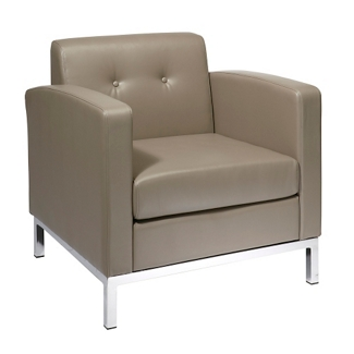 Modern Faux Leather Guest Chair, 75193