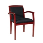 Black Fabric Guest Chair, 75891